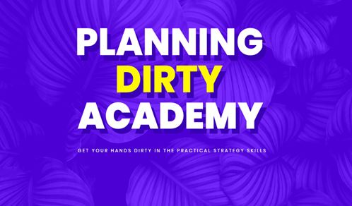 Julian Cole - Planning Dirty Academy