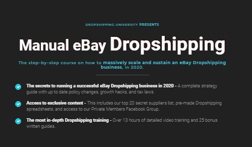 Manual eBay Dropshipping with Tom Cormier