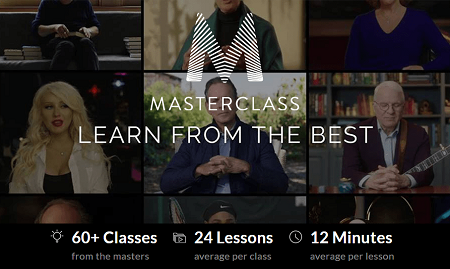 MasterClass.Com ALL Courses Collection 2020